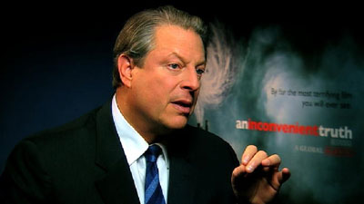 Al Gore Talks Tesla/Climate Change