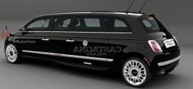 Fiat 500 stretch limo 160 mile range 2012