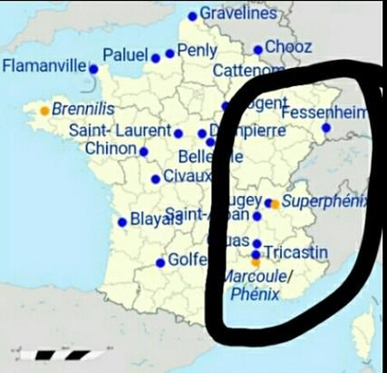 Circled France_59_Nuclear_Reactors 85% Gov owned