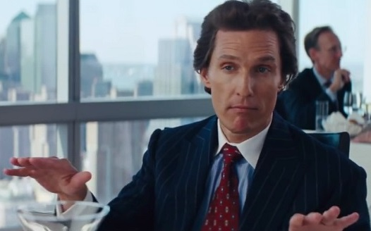 Matthew Mcconaughey Wolf Of Wall Street Fugazi