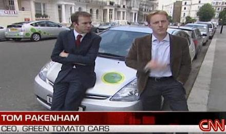 CNN Green Tomato Cars Cabs London