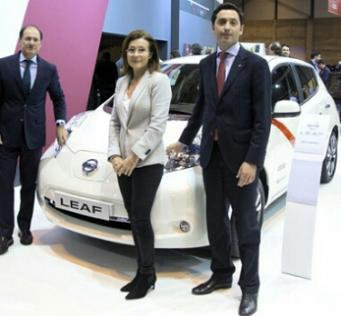 No Record Madrid Nissan Leaf 110 Taxis2016