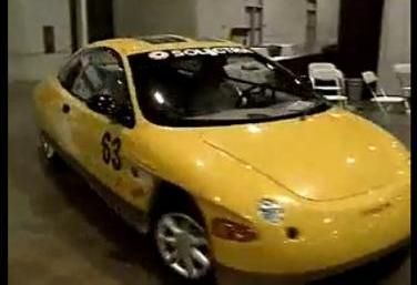 Solectria Sunrise 375 miles 1996 excl. video