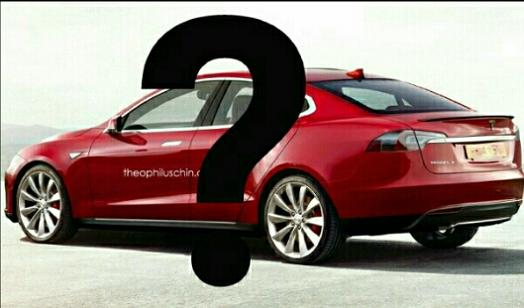 Tesla Model 3 Design Prediction Chin
