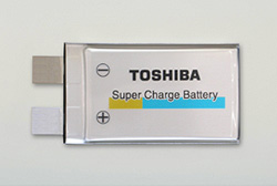 Toshiba Super Charge Nano Li-ion