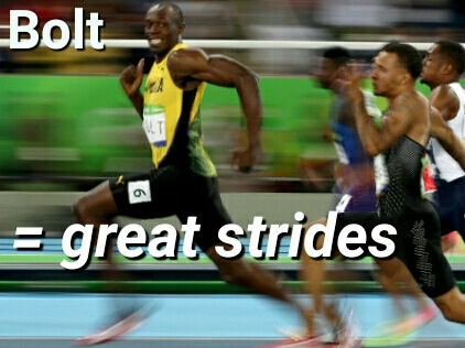 Usain Bolt Great Strides
