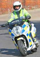 Vectrix_POlice_Hampshire