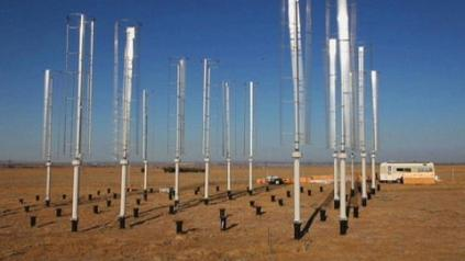 Vertical Axis Turbines far more efficient