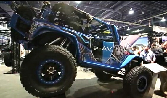 e-AV Jeep KIT 2dayconversion150mpc Poison